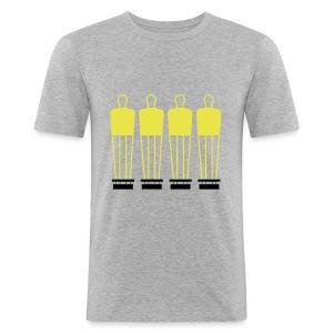 Free Kick Wall - Men's Slim Fit T-Shirt