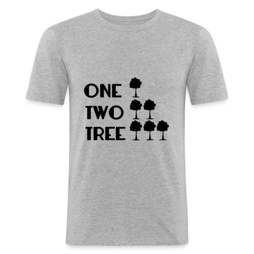 ONE-TWO-TREE-SF - Camiseta ajustada hombre