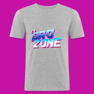 La BroZone ! - Tee shirt près du corps Homme