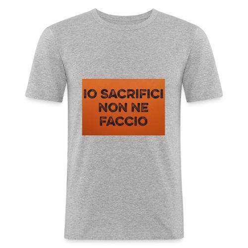 Canotta IoSacrificiNonNeFaccio 2016 - Maglietta aderente da uomo