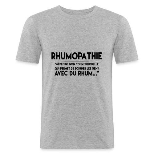 Rhumopathie - T-shirt près du corps Homme