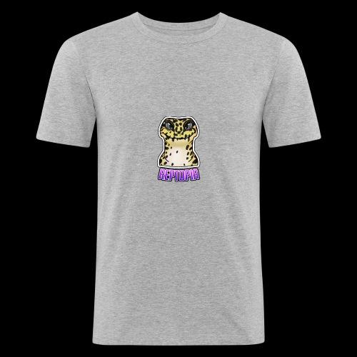 Reptopia Logo Tee - Men's Slim Fit T-Shirt
