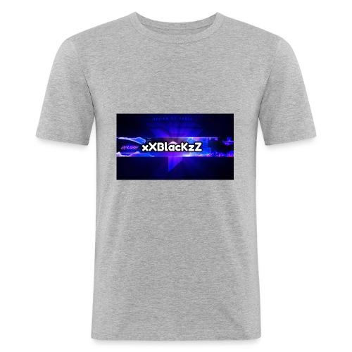 XxBlacKzZ - Männer Slim Fit T-Shirt