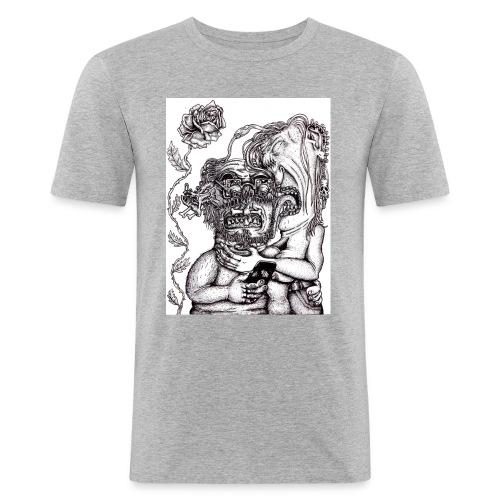 Piercat par - Slim Fit T-shirt herr