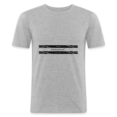 20161218-unnamed-Logo - Männer Slim Fit T-Shirt