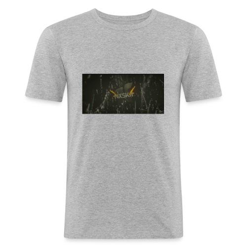 NxSkA - Männer Slim Fit T-Shirt