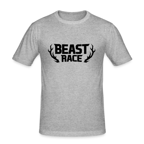 BEAST RACE - Men's Slim Fit T-Shirt