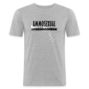 Ammosexual Multi-Caliber (black) - Männer Slim Fit T-Shirt