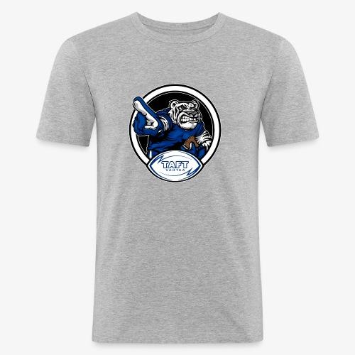 4769739 126934379 white tiger orig - Miesten tyköistuva t-paita