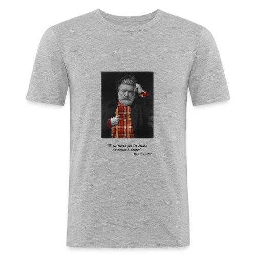 Victor Hugo Hipster - T-shirt près du corps Homme