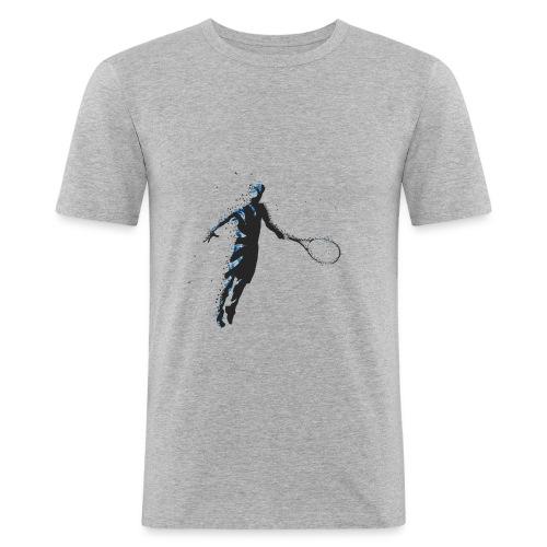 Flying Player - Männer Slim Fit T-Shirt