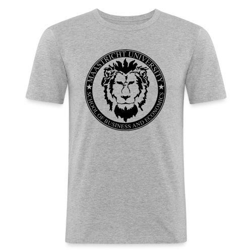 SBE Lion Black - Men's Slim Fit T-Shirt