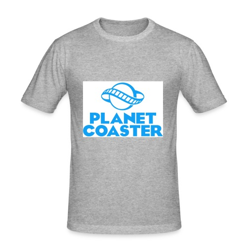 game planet coaster - slim fit T-shirt