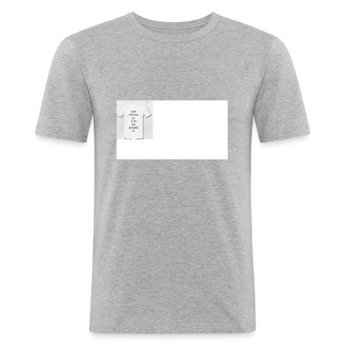 SPREAD - Maglietta aderente da uomo