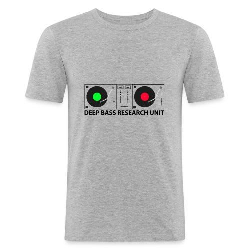 Deep Bass - Männer Slim Fit T-Shirt