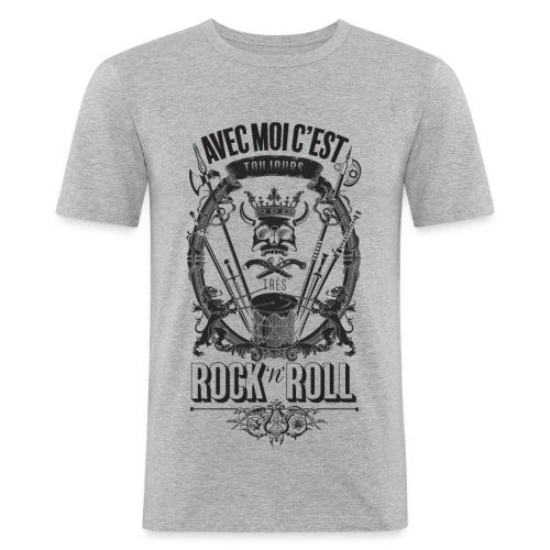 Rock'n'roll - T-shirt près du corps Homme