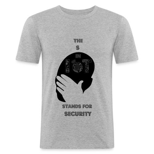 IoT Security - Männer Slim Fit T-Shirt