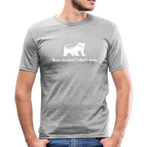 CryptoFR I don't care - T-shirt près du corps Homme