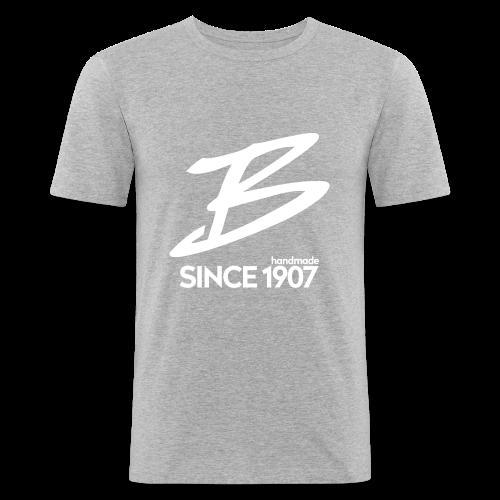 Böttcher B - Männer Slim Fit T-Shirt