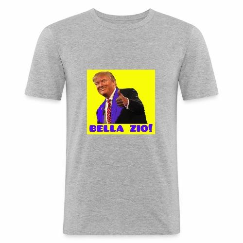 Bella zio, Trump! - Maglietta aderente da uomo