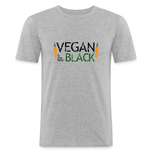 Vegan is the new black - Camiseta ajustada hombre