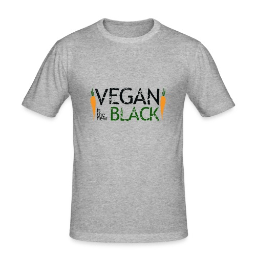 Vegan is the new black - Camiseta ajustada hombre