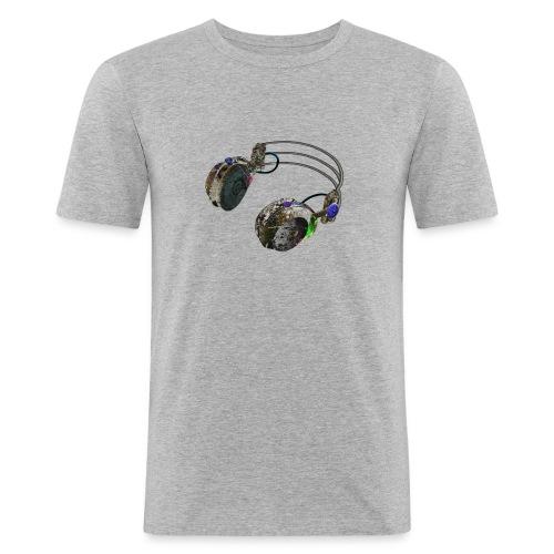 Dj music fashion - Men's Slim Fit T-Shirt
