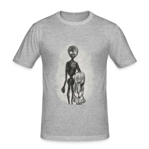 Strange Friends - Slim Fit T-shirt herr