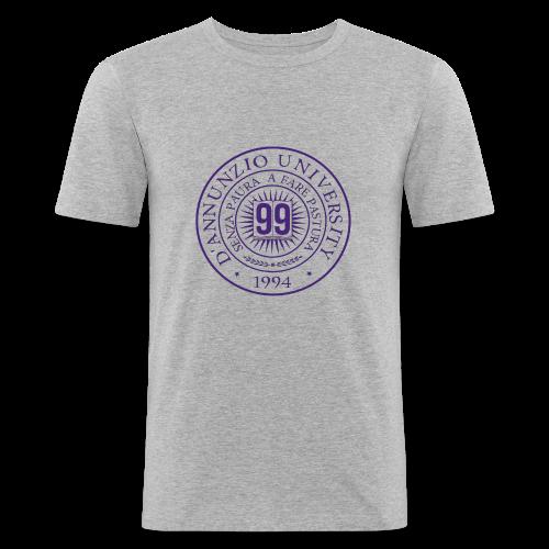 99 COSSE LOGO - Maglietta aderente da uomo