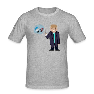 Drumpf and his Fairlies - Men's Slim Fit T-Shirt