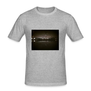 Dark Water View - Tee shirt près du corps Homme