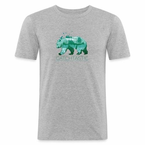 Bär Natur - Männer Slim Fit T-Shirt