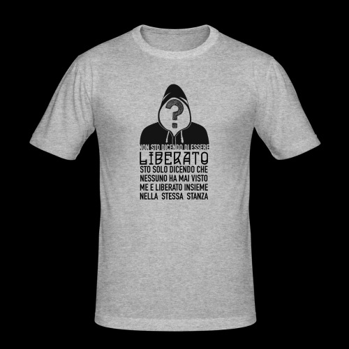 Napoletano Liberato - Maglietta aderente da uomo