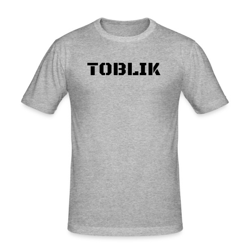 Super Toblik - Männer Slim Fit T-Shirt