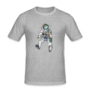 Astronaut Shirt - Männer Slim Fit T-Shirt