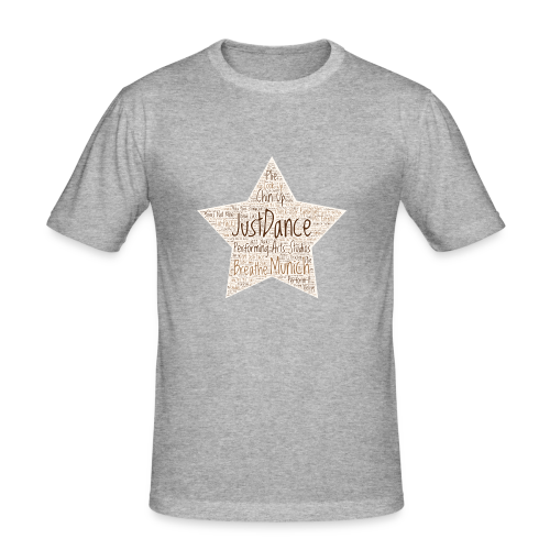 PAS Star Original bg beige - Männer Slim Fit T-Shirt