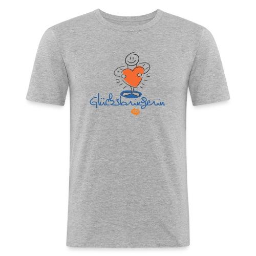 vtw Glücksbringerin - Männer Slim Fit T-Shirt
