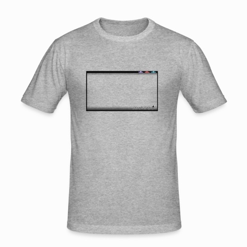 The Scots Review GO LIVE! Logo - Men's Slim Fit T-Shirt