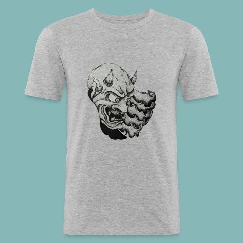OniTattooSketch - Maglietta aderente da uomo