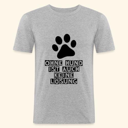 Das Shirt für Hundefreunde - Männer Slim Fit T-Shirt