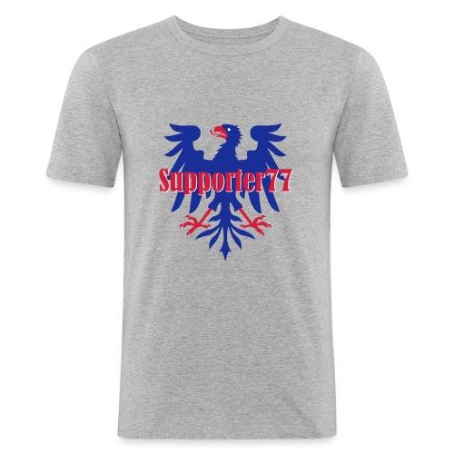 Supporter77 - Slim Fit T-shirt herr