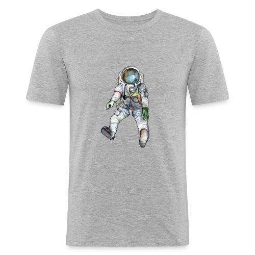 Astronaut Shirt - Männer Slim Fit T-Shirt
