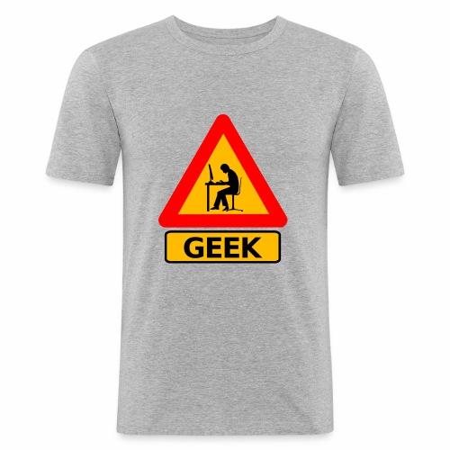 Geek - T-shirt près du corps Homme
