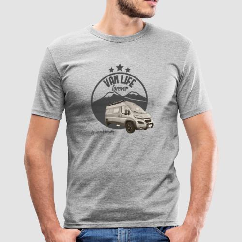 Vanlife forever retro - Männer Slim Fit T-Shirt