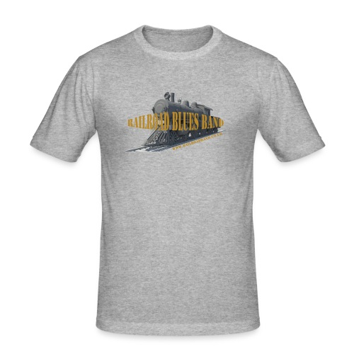 Railroad2 - Men's Slim Fit T-Shirt