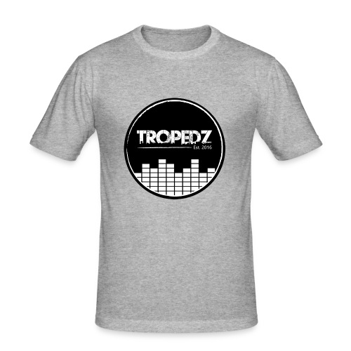 Tropedz-music - Männer Slim Fit T-Shirt