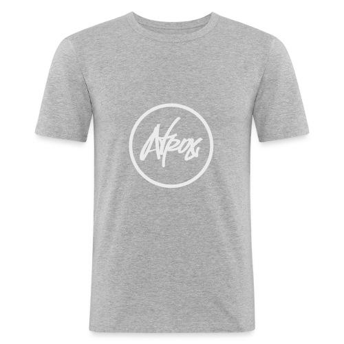 Atrox Logo White Transparent - Men's Slim Fit T-Shirt