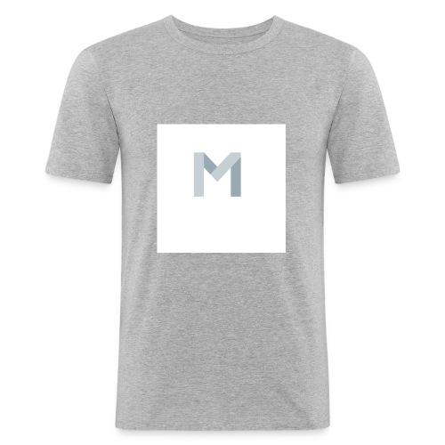 Mein Anfangsbuchstabe von meinem Namen - Männer Slim Fit T-Shirt