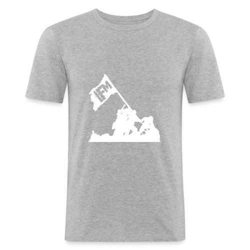 IFM LOGO - Männer Slim Fit T-Shirt
