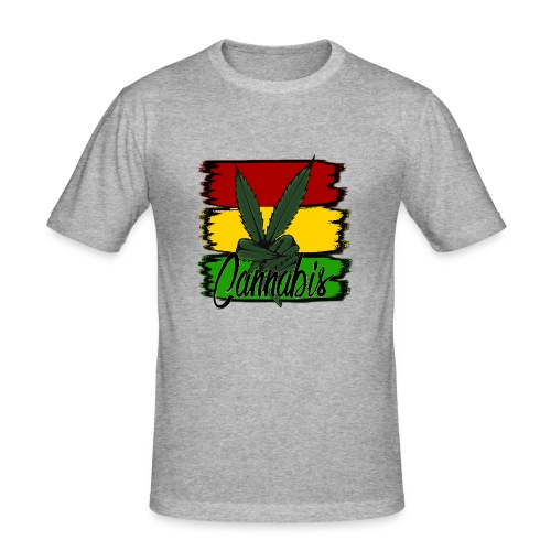 Cannabis - Herre Slim Fit T-Shirt